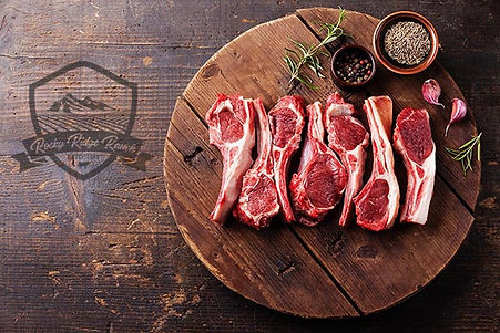 Incredible lamb chops from our Ranch to your feast!