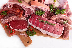 Our farm fresh and pastured grass fed meats