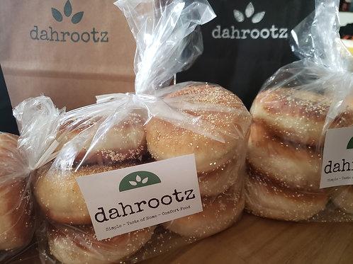 "dahrootz ""fluffy"" english muffins"