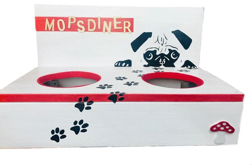 Mops Diner- nur für Möpse!