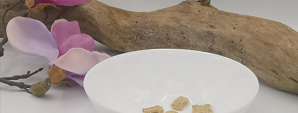 Keramik Hundenapf, reinweiß