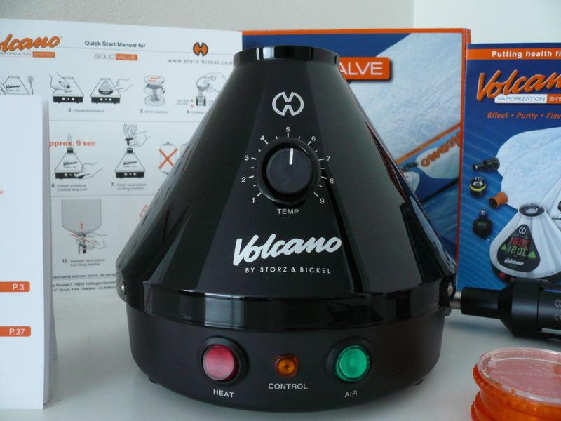 Volcano - Table top vaporizer