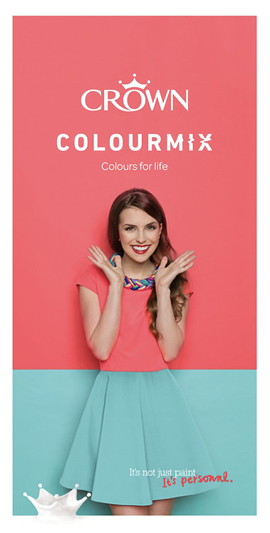 Crown Paints Colourmix Collection
