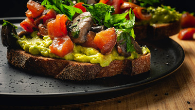 The most delicious and simplest avo toast!!!