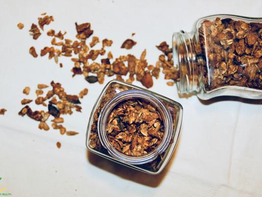 Oh my granola! GLUTEN FREE-OIL FREE- NO REFINED SUGARS