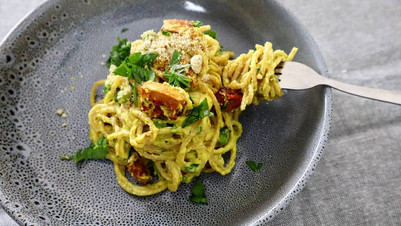 Fake Carbonara (vegan)