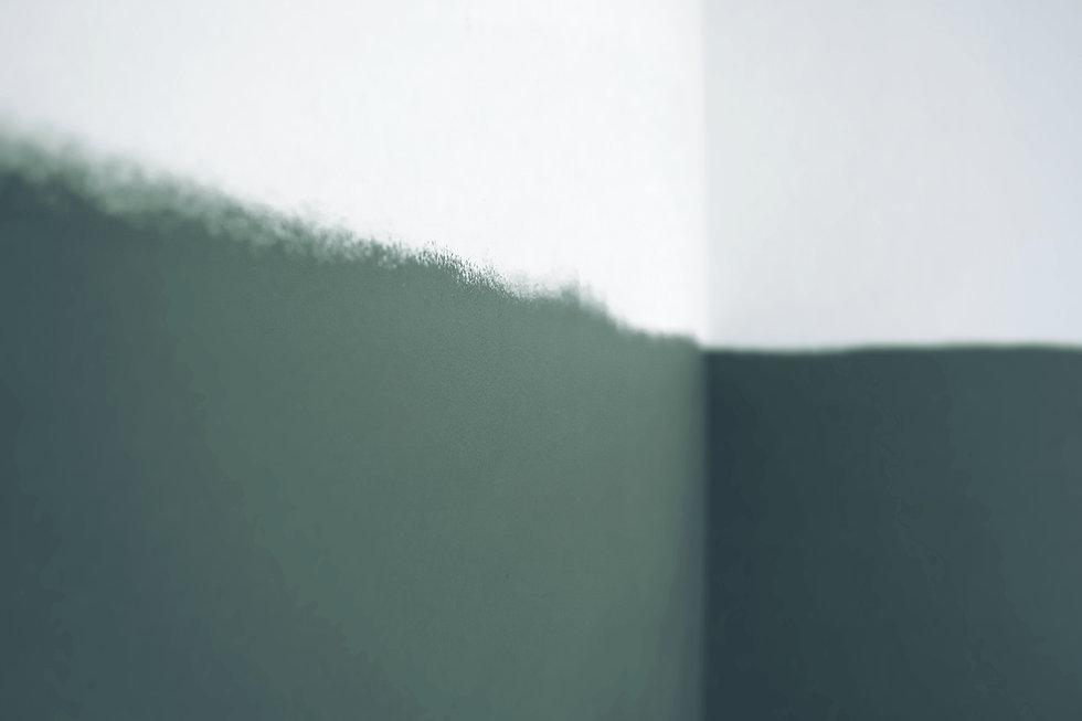 Vihreä seinä ombre sisustussuunnittelu muotoilu seinä