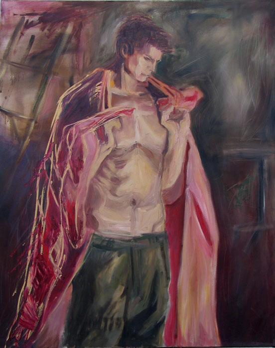"""Marius"" - Oil on canvas"