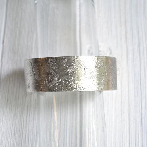 "Dogwood Cuff Bracelet - 7/8"" wide"