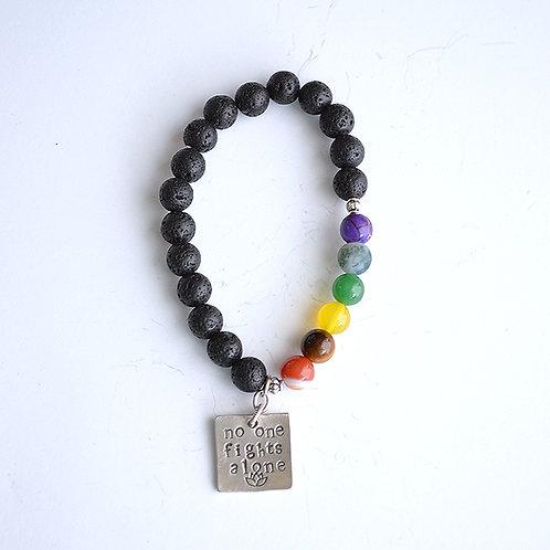 Anxiety Awareness Gemstone Bracelet