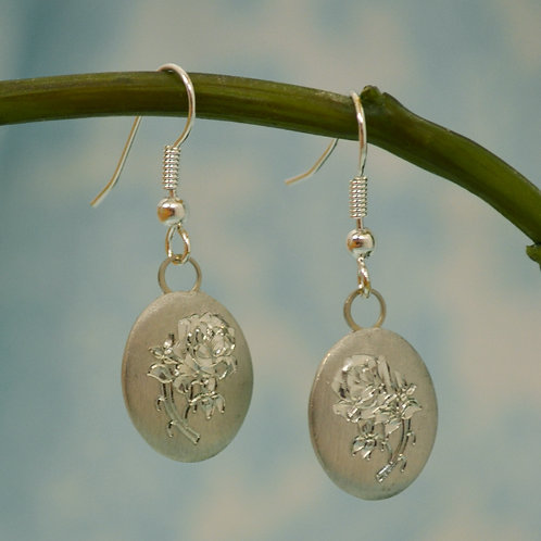 June Pewter Earrings