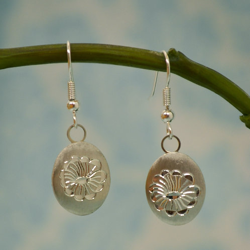 July Pewter Earrings