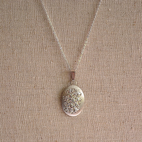 Flower of the Month Pewter Pendant - May