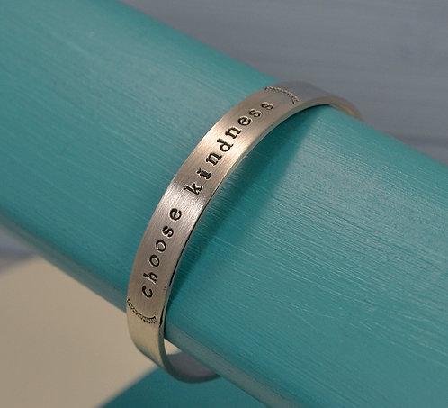 Choose Kindness Pewter Bracelet