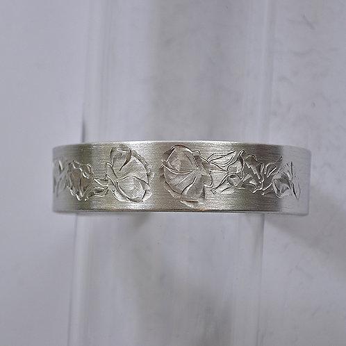 August Pewter Cuff Bracelet