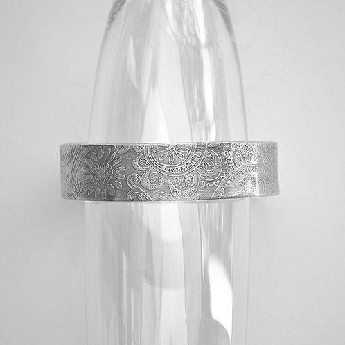 Paisley Pewter Cuff Bracelet