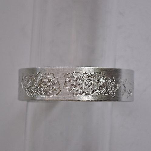 June Pewter Cuff Bracelet