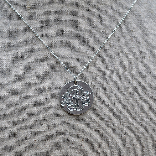 Small Pewter Pendant