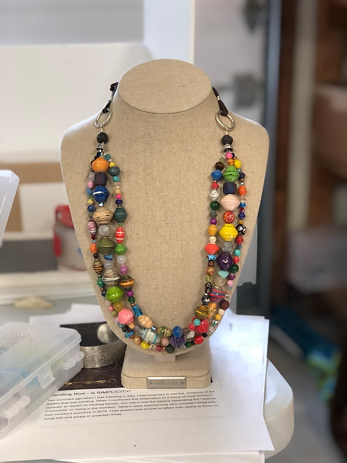 Triple Stand Necklace
