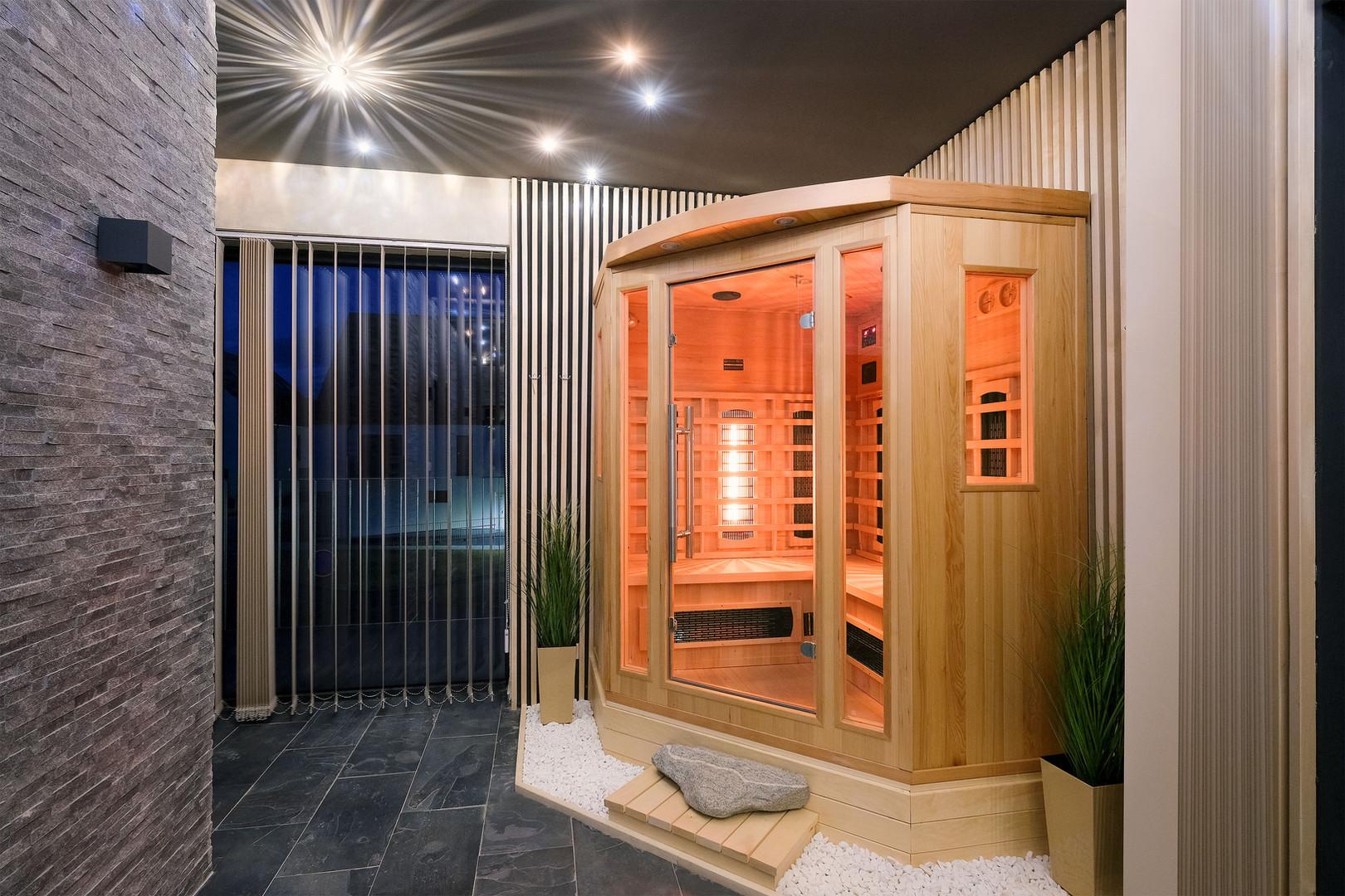 Wellness centrum - infra sauna