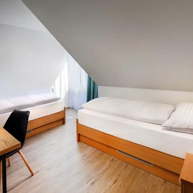 Apartmány Maladinovo - apartmán spálňa