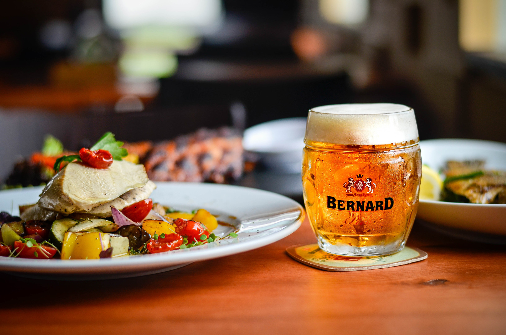 kurací steak s pivom Bernard