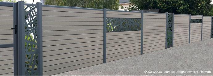 dřevoplastový plot