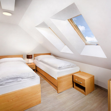 Apartmány Maladinovo - spálňa mezonetu