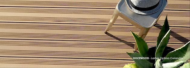 Dřevoplastová terasa ocewood