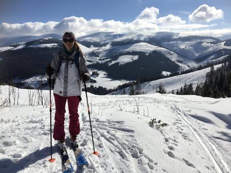 Turistika na lyžiach v Liptovskej Tepličke
