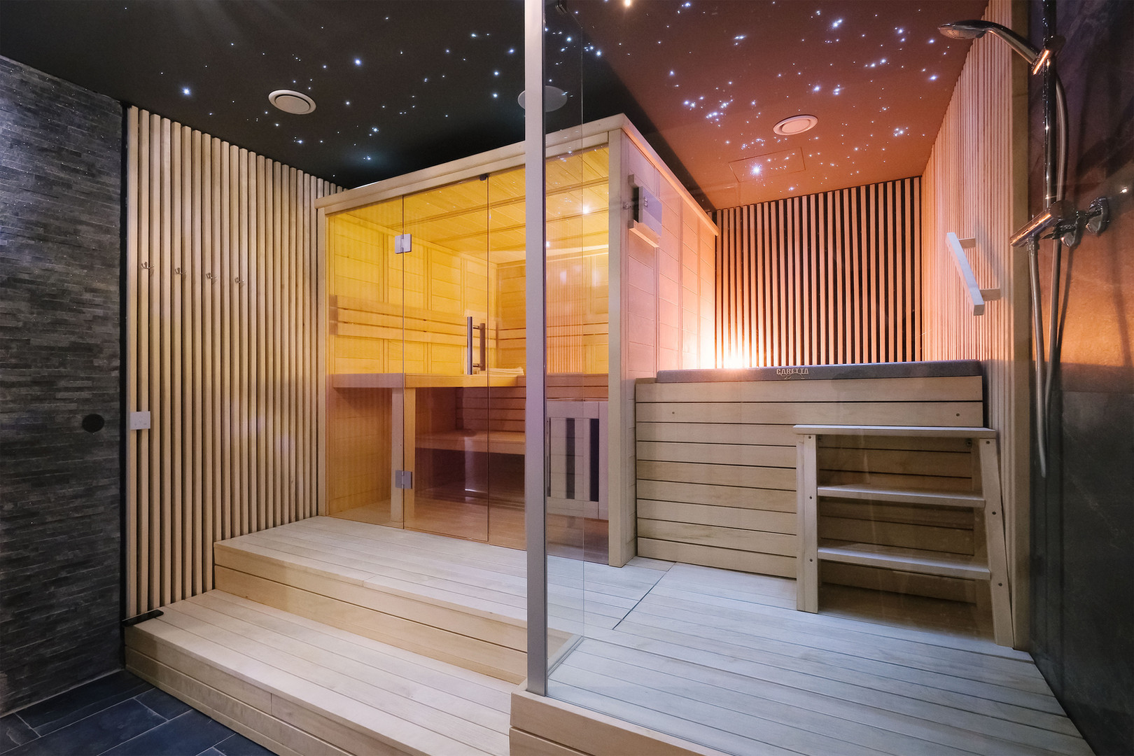 Wellness centrum - fínska sauna