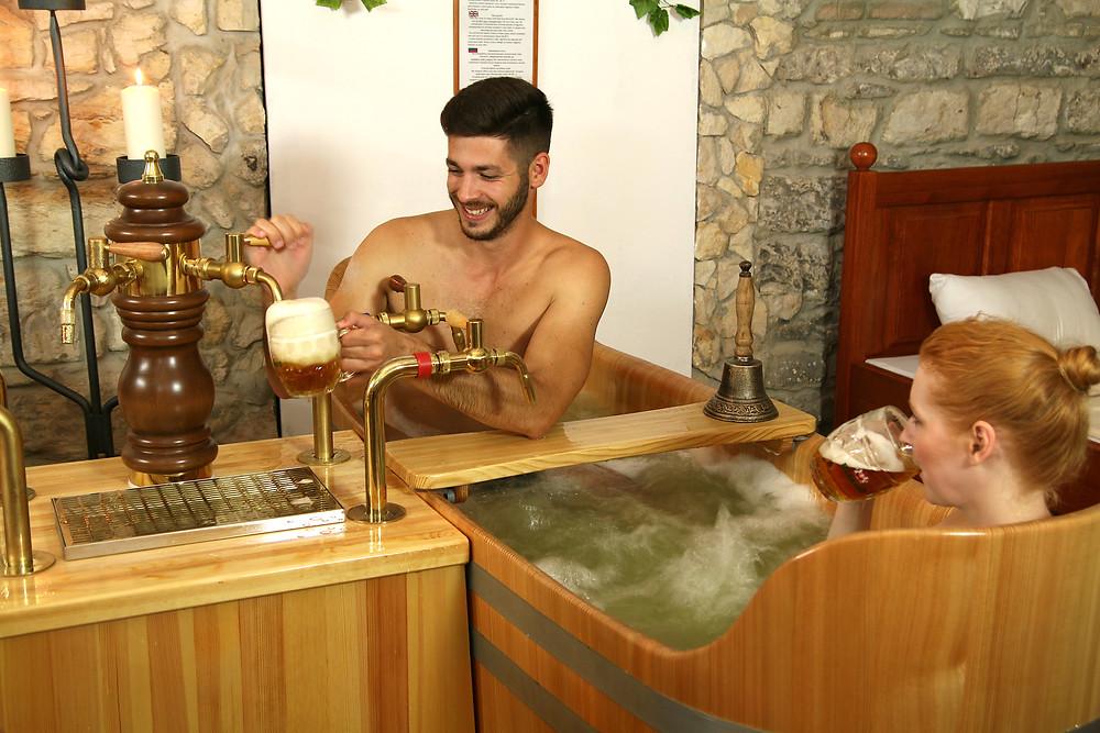Pivné kúpele v Maladinove