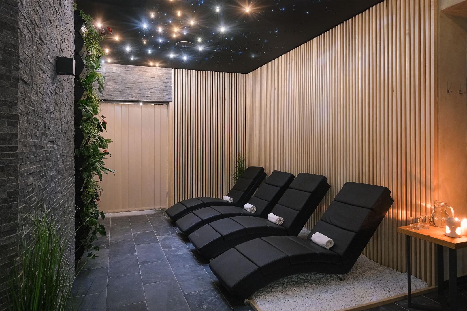 Wellness centrum - odpočinková miestnosť