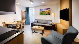 Apartmány Maladinovo - Apartmán obývačka