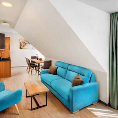 Apartmány Maladinovo - Dvojspálňový apartmán