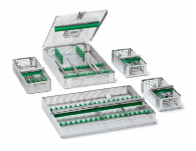 Instrument baskets for dental CSSD instruments