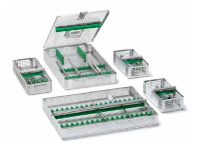 Instrument baskets for dental CSSD instruments