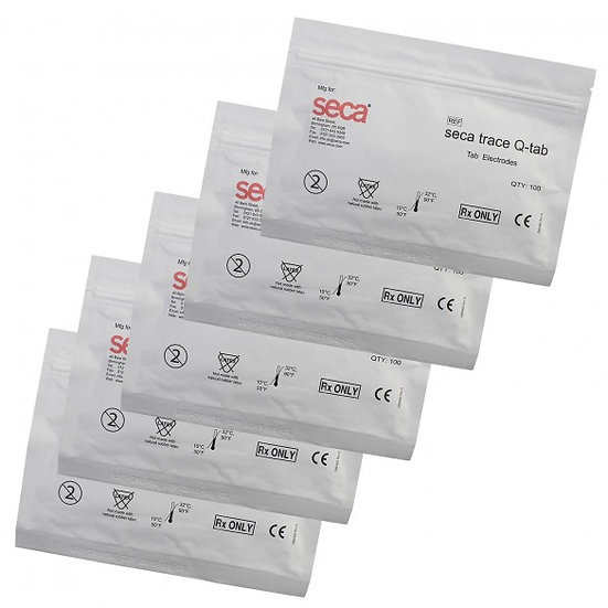 ECG consumable q-tab electrodes