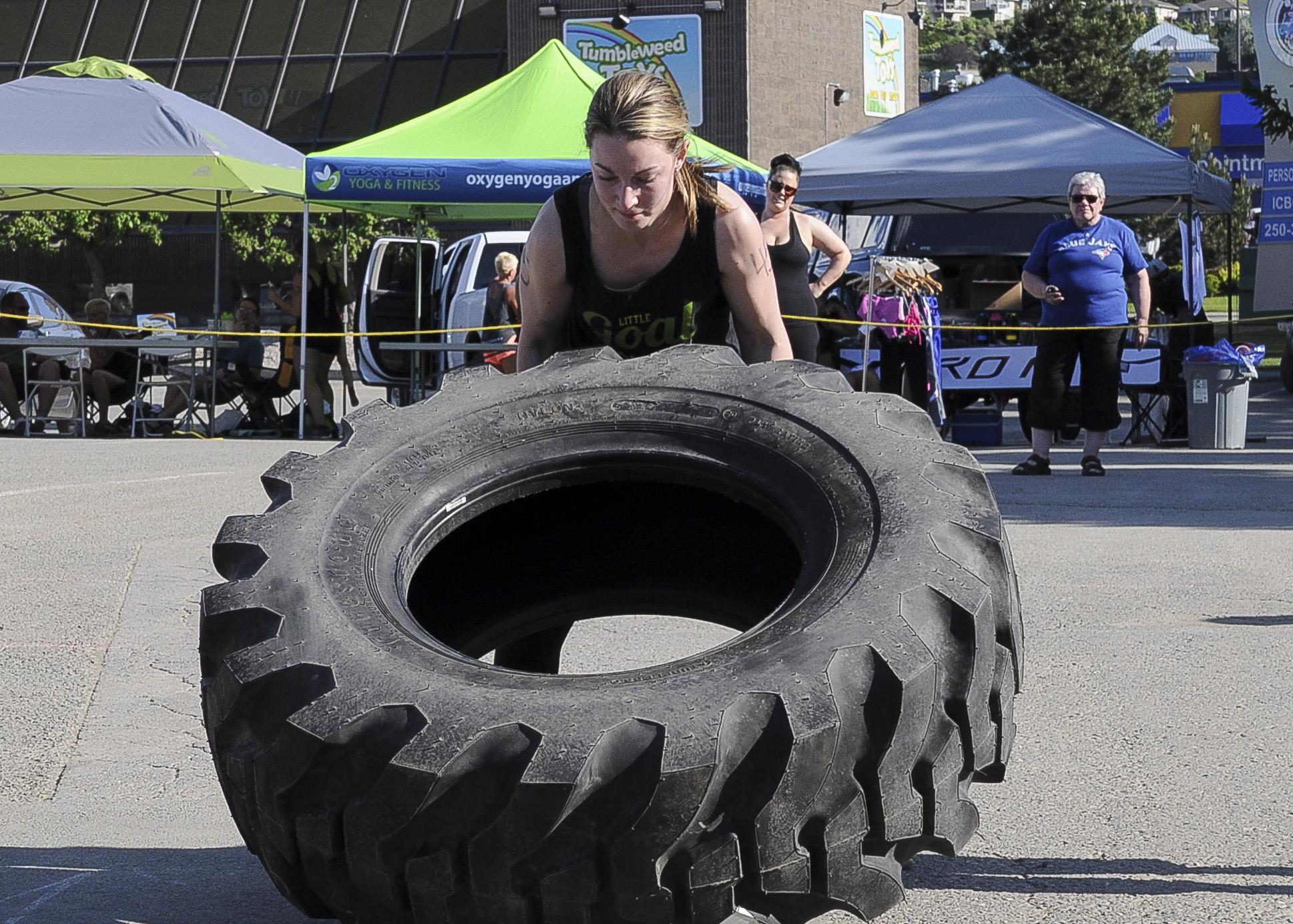 Tire Flipping 1