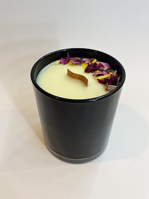 Musk Sticks - CocoSoy 30hr Woodwick candle.