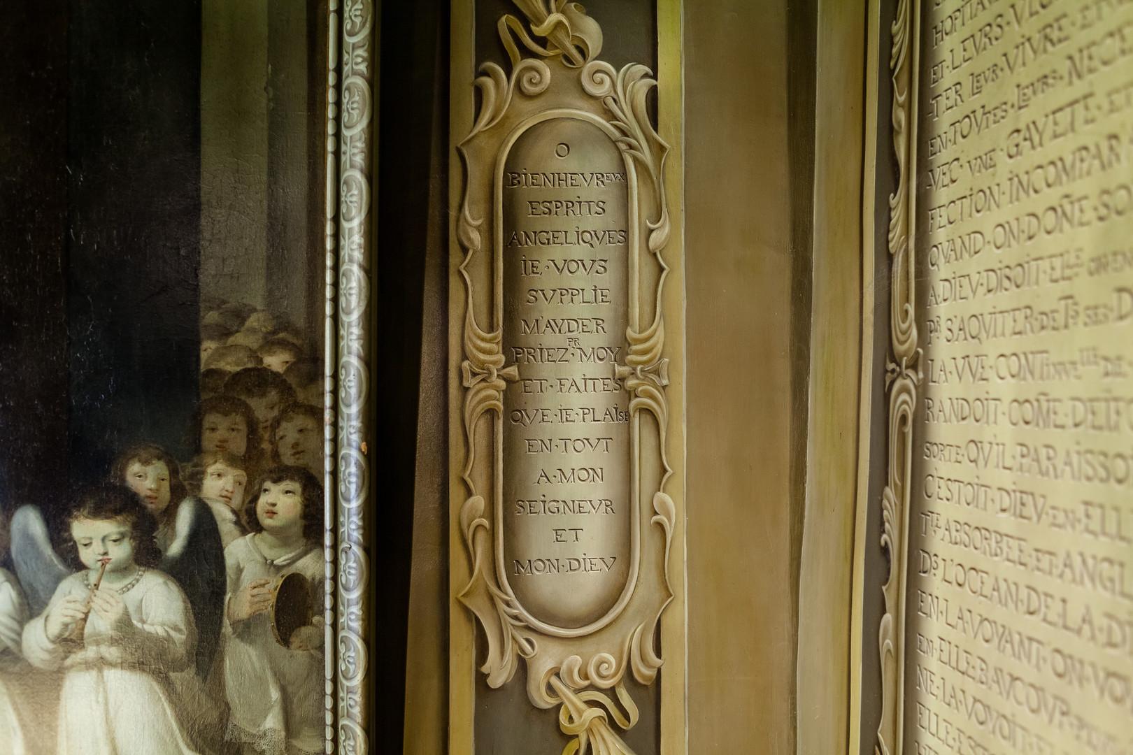 Cellule : texte de la Bienheureuse Marie de l'Incarnation