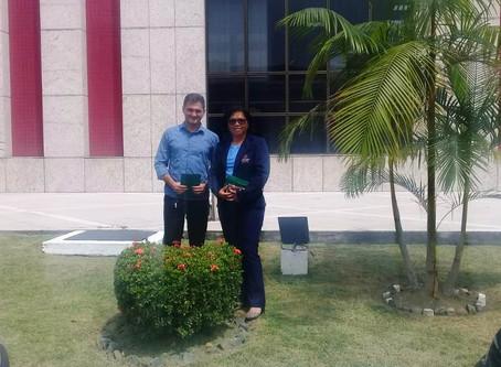 Representantes da FSDB participaram do Café Ambiental promovido pelo TCE-AM