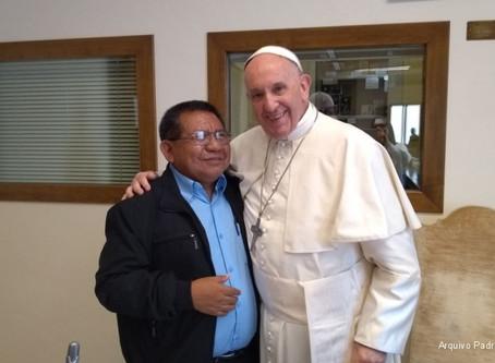 Padre Justino Sarmento fala sobre o Sínodo da Amazônia aos acadêmicos e professores da FSDB