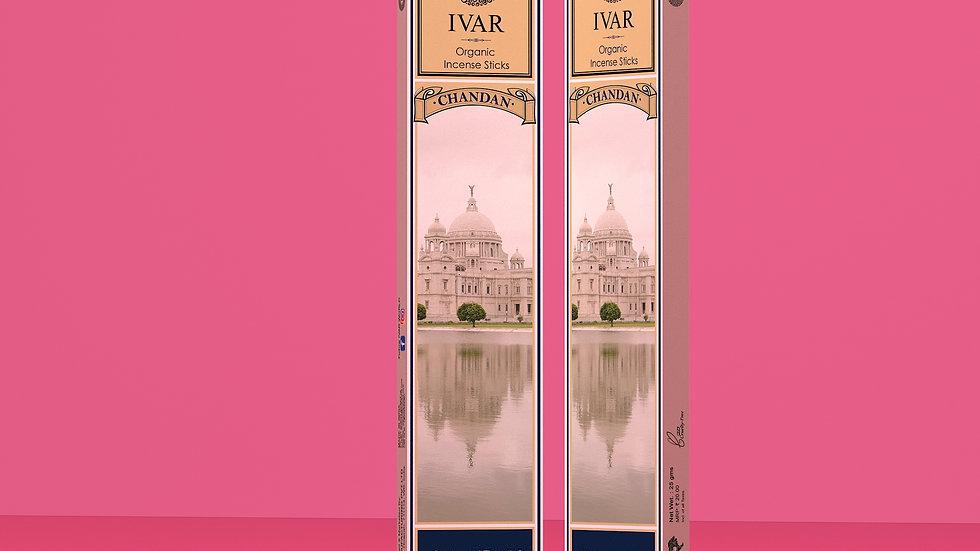 Chandan, Loban and Mogra-The IVAR House Blend Organic Incense Sticks Combo Packs