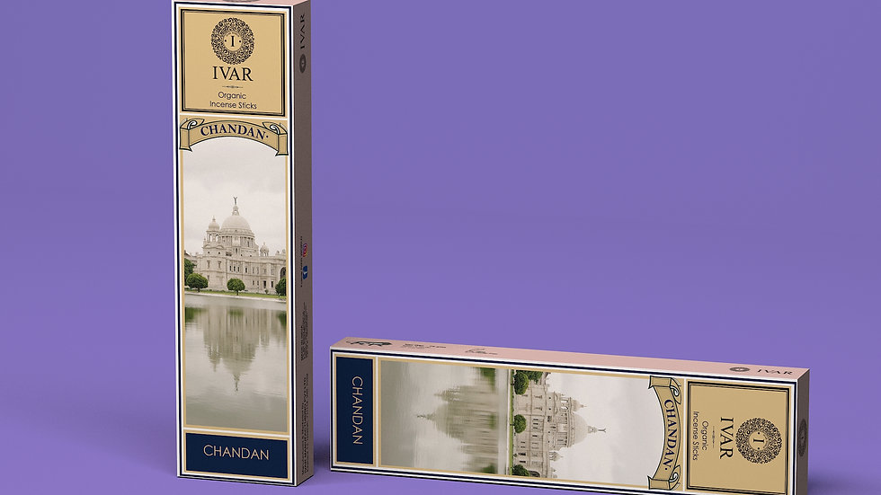 Chandan and Loban -The IVAR House Blend Organic Incense Sticks Combo Packs