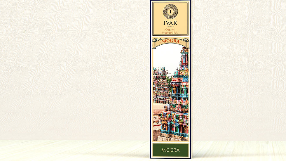 Gold and Mogra : The IVAR House Blend Organic Incense Sticks Combo Packs