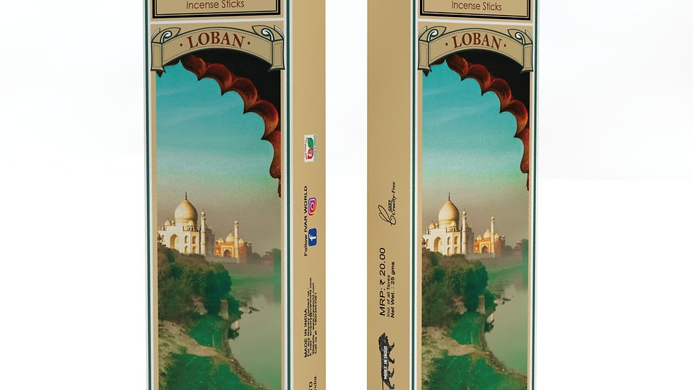 Gold and Loban : The IVAR House Blend Organic Incense Sticks Combo Packs