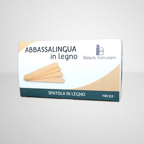 Abbassalingua in Legno - 100 Pezzi