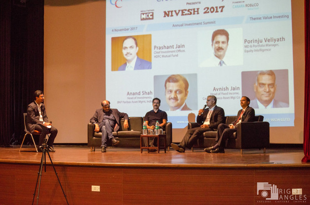 Panel Discussion with Nivesh 2017 speakers