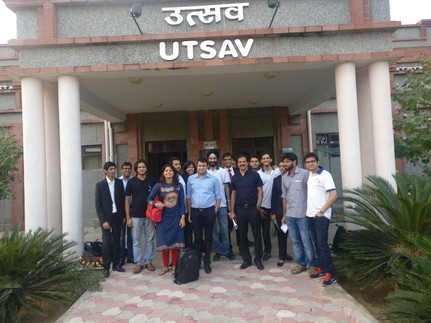 Mr. Porinju Veliyath, Mr. Ayush Mittal and Mr. Pratyush Mittal with Team Credence
